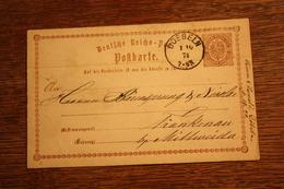 ( 1455 ) GS DR  P 1  Gelaufen  -   Erhaltung Siehe Bild - Postwaardestukken