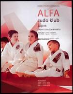 Croatia 2019 / Alfa Judo Club / Prospectus, Brochure - Advertising