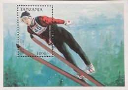 Tanzania 1998 Winter Olympic Games S/S - Tanzania (1964-...)