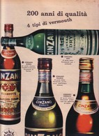 (pagine-pages)PUBBLICITA' CINZANO  Tempo1957/27. - Libri, Riviste, Fumetti