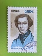 Timbre France YT 3780 - Personnalité - Alexis De Tocqueville - Historien Et Homme Politique - Portrait - 2005 - France