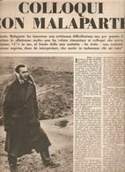 (pagine-pages)CURZIO MALAPARTE  Tempo1957/27. - Libri, Riviste, Fumetti