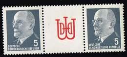 DDR 1955, Michel# WZ 11 ** - [6] République Démocratique