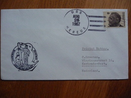 (us) Schiffpost Shipmail USSNEREUS AS-17 1967 UNITED STATES. - Bateaux