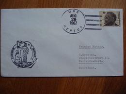 (us) Schiffpost Shipmail USSNEREUS AS-17 1967 UNITED STATES. - Boten