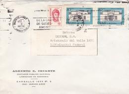 "ALBERTO E IRIARTE-CIRCULEE 1974 BUENOS AIRES-BANDELETA PARLANTE ""ANIV CREACION CAMARA SA""-ARGENTINE- BLEUP - Fábricas Y Industrias"