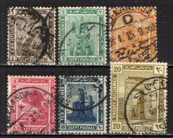 EGITTO - 1914 - SERIE COMPLETA - USATI - 1866-1914 Khedivato Di Egitto