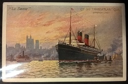 TRANSATLANTICI - LA SAVOIE - Barche