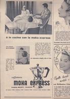 (pagine-pages)PUBBLICITA' MOKA EXPRESS   Tempo1957/44. - Libri, Riviste, Fumetti