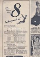 (pagine-pages)PUBBLICITA' PLASMON   Tempo1957/44. - Libri, Riviste, Fumetti
