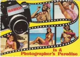 Bt - CPM HAWAII - Is A Photographer's Paradise (jeunes Femmes Aux Seins Nus) - Etats-Unis