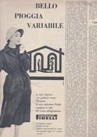 (pagine-pages)PUBBLICITA' PIRELLI   Tempo1957/44. - Libri, Riviste, Fumetti