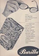 (pagine-pages)PUBBLICITA' BARILLA   Tempo1957/44. - Libri, Riviste, Fumetti