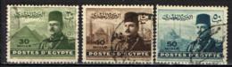 EGITTO - 1947 - EFFIGIE DEL RE FAORUK E VISTE DIVERSE - USATI - Égypte