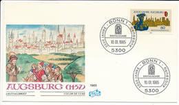 FDC Mi 1234 - 10 January 1985 - Augsburg 2000th Anniversary Roman Emperor Ausgustus - [7] Federal Republic