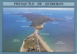 56 Prequ'Ile De Quiberon L'Isthme De Penthièvre Et La Presqu'Ile (2 Scans) - Quiberon