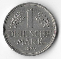 Germany Federal Republic 1979D 1 Mark [C546/2D] - [ 6] 1949-1990 : GDR - German Dem. Rep.