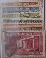Réunion - YT 141 à 146 - Reunion Island (1852-1975)