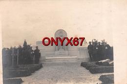 Carte Postale Photo Militaire Allemand SAINT-ETIENNE A ARNES (Ardennes) Monument Aux Morts Friedhof Guerre-Krieg 14/18 - France