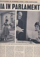 (pagine-pages)SOFIA LOREN   Settimanaincom1957/29. - Libri, Riviste, Fumetti