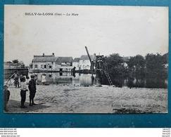 CPA - SILLY-le-LONG (Oise) - La Mare - Animée - Frankreich