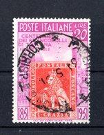 Italia :  Francobolli Del Granducato Di Toscana - £. 20  Usato  -  27.03.1951 - 6. 1946-.. Repubblica