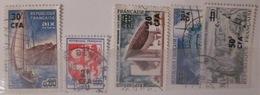 Réunion - YT 372 373 374 376 377 - Reunion Island (1852-1975)