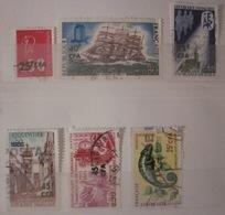 Réunion - YT 393 395 396 397 398 399 - Réunion (1852-1975)