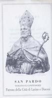 Santino - San Pardo - Patrono Della Città Di Larino - E1 - Santini
