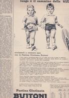 (pagine-pages)PUBBLICITA' BUITONI   Settimanaincom1957/37. - Libri, Riviste, Fumetti