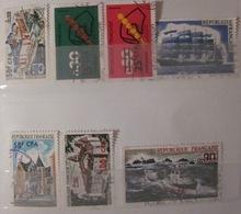 Réunion - YT 406 410 411 415 416 417 424 - Réunion (1852-1975)