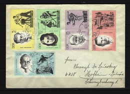 DDR - Beleg Mit Mi-Nr. 983 - 987 Gelaufen - [6] Democratic Republic