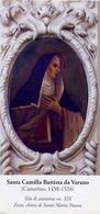 Santino - Santa Camilla Battista Da Varano - E1 - Santini
