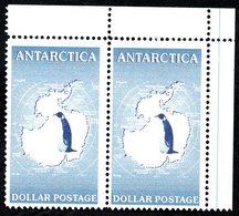 Antarctica Post 2001. Blue Penguin Pair - Unclassified