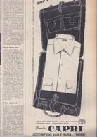 (pagine-pages)PUBBLICITA' CAPRI   Settimanaincom1957/06. - Libri, Riviste, Fumetti
