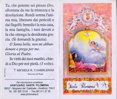 Santino - Santa Filomena V.m. - Santini