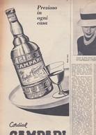 (pagine-pages)PUBBLICITA' CAMPARI  Settimanaincom1957/06. - Libri, Riviste, Fumetti