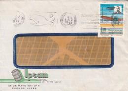 "LPSAM-CIRCULEE 1974 BUENOS AIRES-BANDELETA PARLANTE ""CRUCEROS ATLANTIDA ARGENTINA DIRECCION NACIONAL TURISMO"" - BLEUP - Argentina"