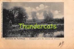 CPA  TURNHOUT ENVIRONS DE TURNHOUT TROUPEAU PRES DES MARAIS DE WINKEL - Turnhout