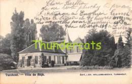 CPA TURNHOUT VILLA DU BLIJK - Turnhout
