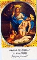 Santino - Vergine Santissima Del Romitello - E1 - Santini