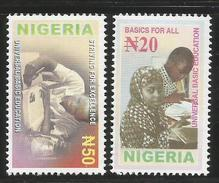 2003 Nigeria Universal Basic Education  Complete Set Of 2 MNH - Nigeria (1961-...)