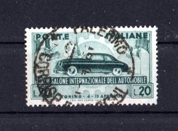 Italia :  33° Salone Dell'Automobile Di Torino - Usato   Del  2.04.1951 - 6. 1946-.. Repubblica