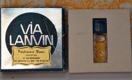 Miniature VIA LANVIN - PARFUM 2 ML De LANVIN - Perfume Miniatures