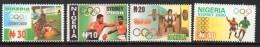 2000 Nigeria  Sydney Olympics Football Boxing Complete Set Of 4 MNH - Nigeria (1961-...)