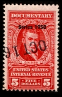 1950 United States $5.00 Documentary - Revenues