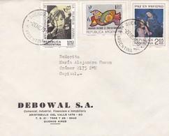 DEBOWAL SA-CIRCULEE 1975 BUENOS AIRES-RECOMMANDE - BLEUP - Argentina