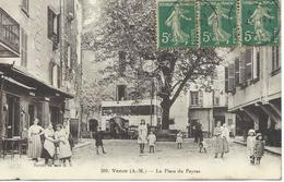DPT 06 VENCE La Place Du Peyras CPA TBE - Vence
