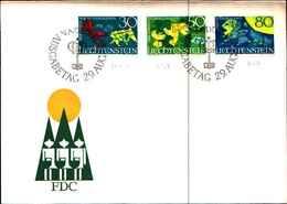 91734)  1968 FDC LIECHTENSTEIN Vaduz /FDC - Blocchi & Fogli