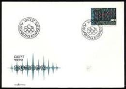 91735)  Liechtenstein - 1972 - EUROPA - N.507 - Busta FDC - Blocchi & Fogli